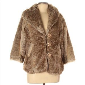 Pins and Needles Faux Fur Coat